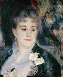 Madame Georges Charpentier, c.1876/77 von Renoir | Gemälde-Reproduktion