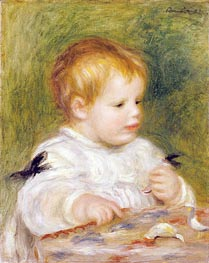 Jacques Fray as a Baby, 1904 von Renoir | Gemälde-Reproduktion