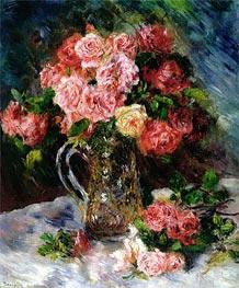Roses, c.1879 von Renoir | Gemälde-Reproduktion