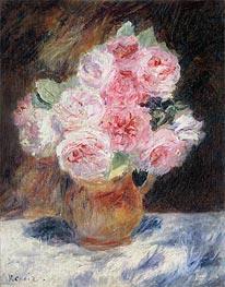 Roses, 1878 von Renoir | Gemälde-Reproduktion