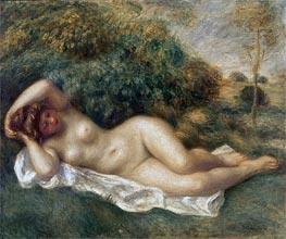 Nude, c.1887 von Renoir | Gemälde-Reproduktion