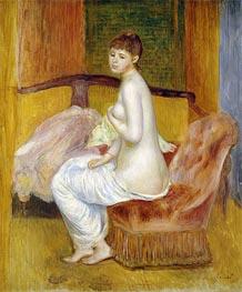 Seated Nude, Resting, 1885 von Renoir | Gemälde-Reproduktion