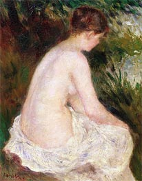 Bather, 1879 von Renoir | Gemälde-Reproduktion