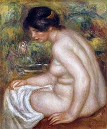 Seated Bather (Gabrielle), undated von Renoir | Gemälde-Reproduktion