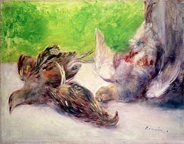 Still Life with Pheasants, undated by Renoir | Painting Reproduction