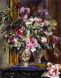 Vase of Flowers, 1871 von Renoir | Gemälde-Reproduktion