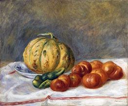 Melon and Tomatoes, 1903 von Renoir | Gemälde-Reproduktion