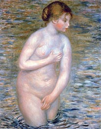 Nude in the Water, 1888 von Renoir | Gemälde-Reproduktion