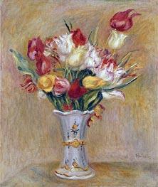 Tulips, undated von Renoir | Gemälde-Reproduktion