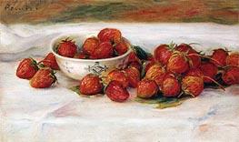Strawberries, undated von Renoir | Gemälde-Reproduktion