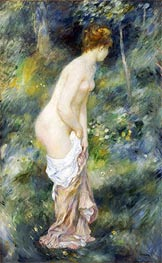 Standing Bather, 1887 von Renoir | Gemälde-Reproduktion