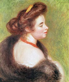 Portrait of Madame Maurice Denis | Renoir | outdated