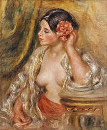 Gabrielle a sa Coiffure | Renoir | Painting Reproduction