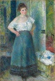 The Laundress | Renoir | Painting Reproduction