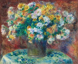 Chrysanthemen | Renoir | Gemälde Reproduktion
