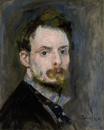 Selbstporträt | Renoir | Gemälde Reproduktion