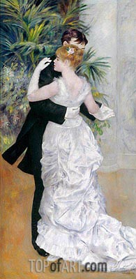 Renoir | Dance in the City, 1883
