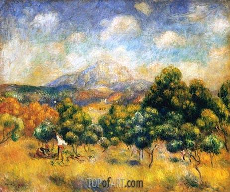 Renoir | Mount Sainte-Victoire, 1889