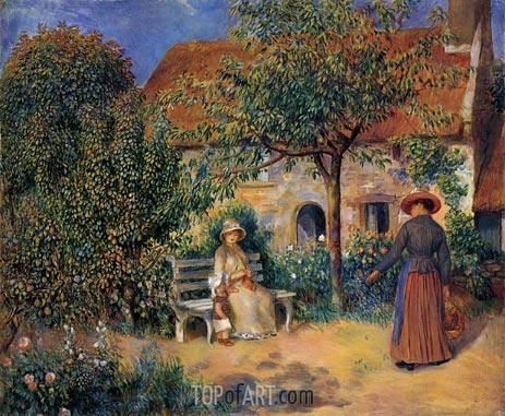 Renoir | Garden Scene in Brittany, c.1886