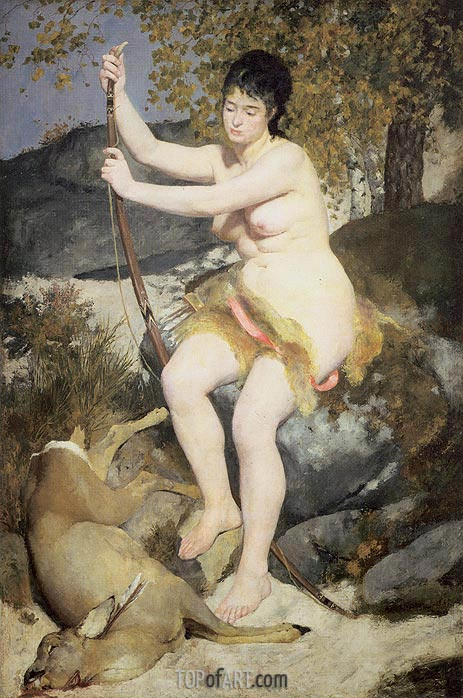 Renoir | Diana the Huntress, 1867