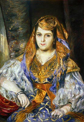 Renoir | Madame Clementine Stora in Algerian Dress, 1870