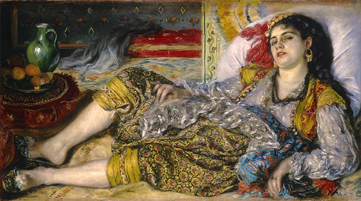 Renoir | Odalisque (An Algerian Woman), 1870