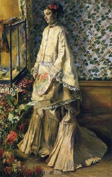 Rapha Maitre, 1871 | Renoir | Gemälde Reproduktion
