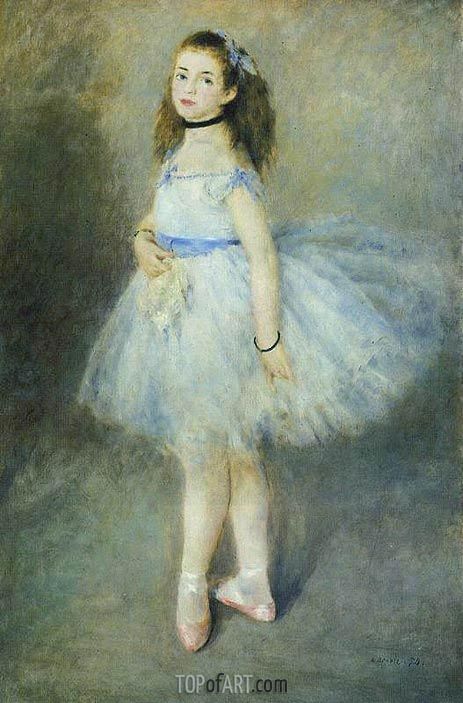 The Dancer, 1874 | Renoir| Painting Reproduction