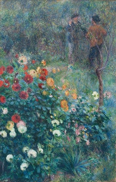 Renoir | The Garden in the Rue Cortot at Montmartre, 1876