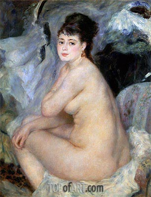 Renoir | Nude Seated on a Sofa, 1876