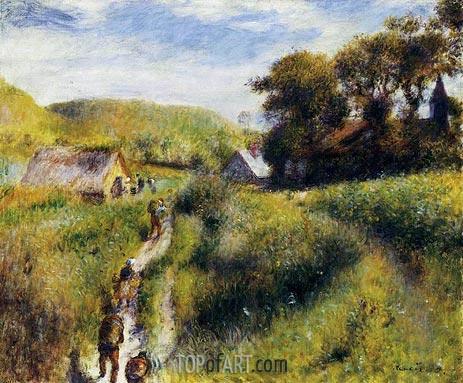The Grape Harvesters (The Vintagers), 1879 | Renoir | Gemälde Reproduktion
