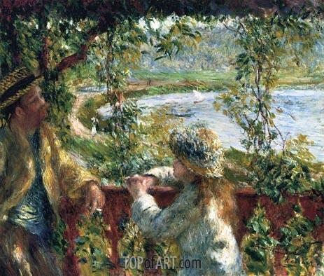 Renoir | Near the Lake, c.1879