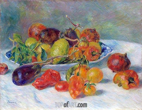 Renoir | Fruits of the Midi, 1881