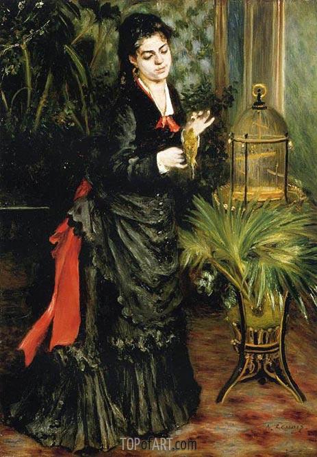 Renoir | Woman with a Parrot (Henriette Darras), 1871