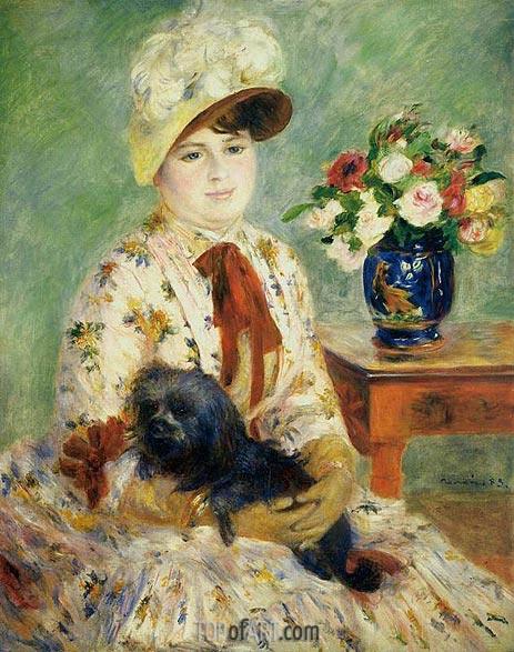 Renoir | Madame Hagen, 1883