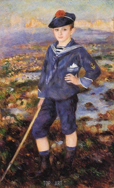 Renoir | Sailor Boy (Portrait of Robert Nunes), 1883