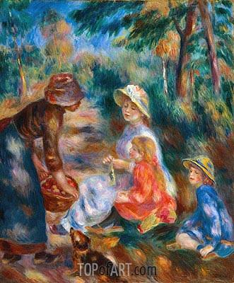 Renoir | The Apple Seller, c.1890
