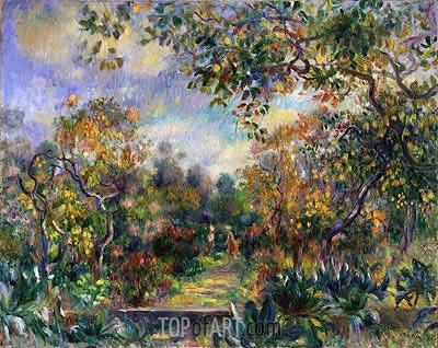 Renoir | Landscape at Beaulieu, c.1893