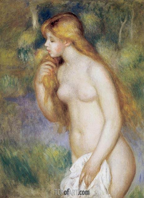 Bather Standing, 1896 | Renoir | Gemälde Reproduktion