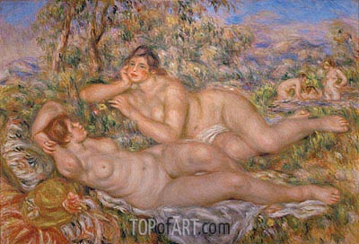 Renoir | The Great Bathers (The Nymphs), c.1918/19