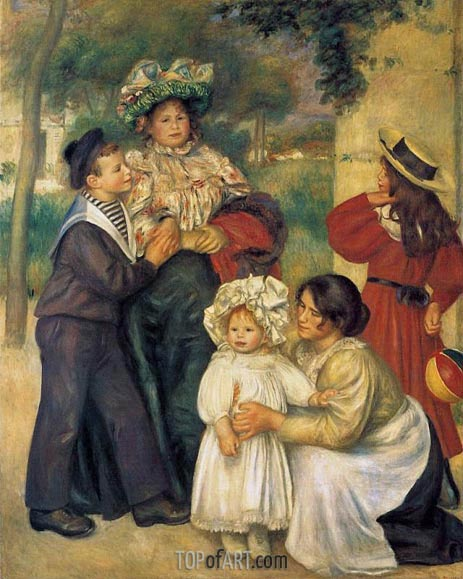 The Artist's Family, 1896 | Renoir | Painting Reproduction