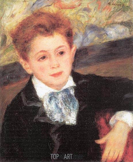Renoir | Portrait of Paul Meunier, 1877