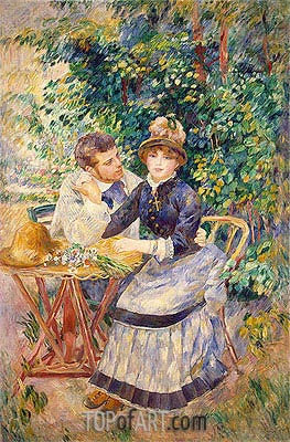 Renoir | In the Garden, 1885