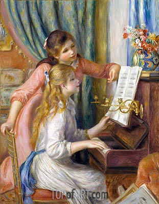 Renoir | Two Young Girls at the Piano, 1892