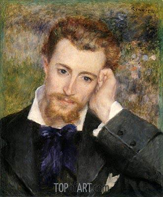 Hyacinthe-Eugene Meunier, Called Eugene Murer, 1877 | Renoir | Gemälde Reproduktion