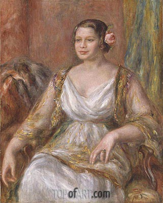 Tilla Durieux (Ottilie Godeffroy), 1914 | Renoir | Painting Reproduction