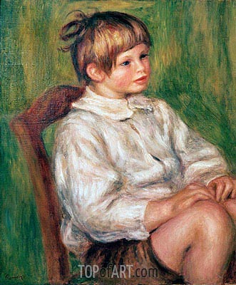 Coco (Claude Renoir), 1910 | Renoir | Painting Reproduction