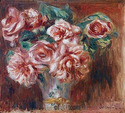 Renoir | Roses in a Vase, 1910