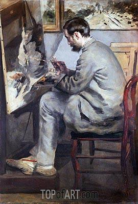 Renoir | Frederic Bazille, 1867