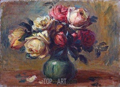 Renoir | Roses in a Vase, c.1890